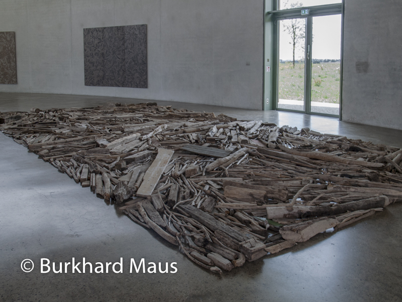 Richard Long, Skulpturenhalle