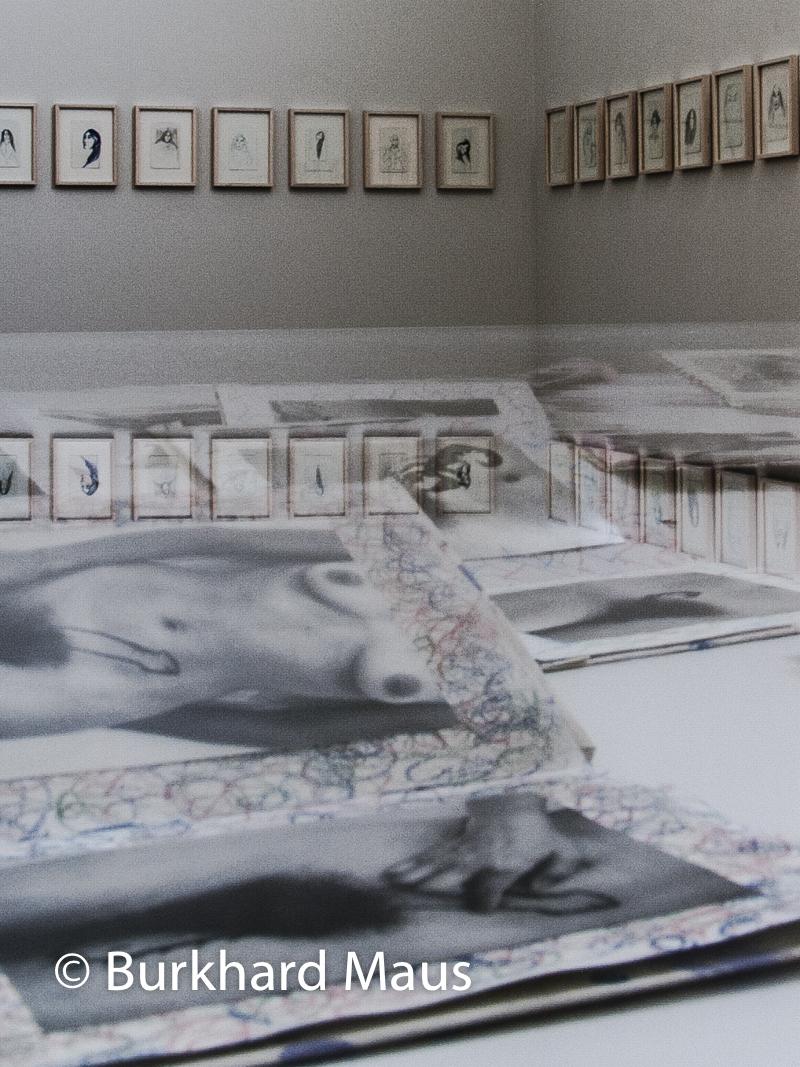 Annette Messager, LA FEMME ... ,(détail), Biennale des arts visuels – Festival Images Vevey, Vevey
