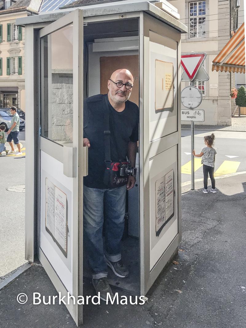 Henry Leutwyler, Hi There, (détail), Biennale des arts visuels – Festival Images Vevey, Vevey