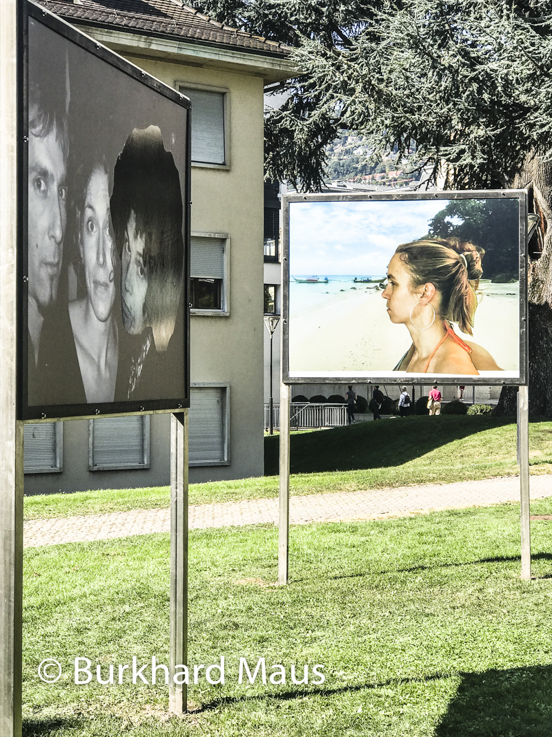 Jenny Rova, I would also like to be a work on jealousy, (détail), Biennale des arts visuels – Festival Images Vevey, Vevey