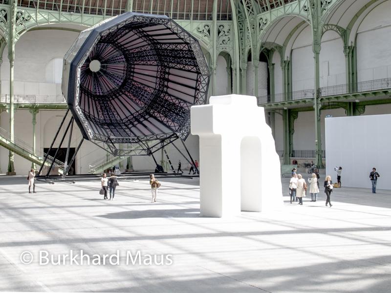 """Iliya und Emilia Kabakov, L'Etrange Cité"""" (détail), , Monumenta, Grand Palais, Paris, (Ausstellungsansicht"""