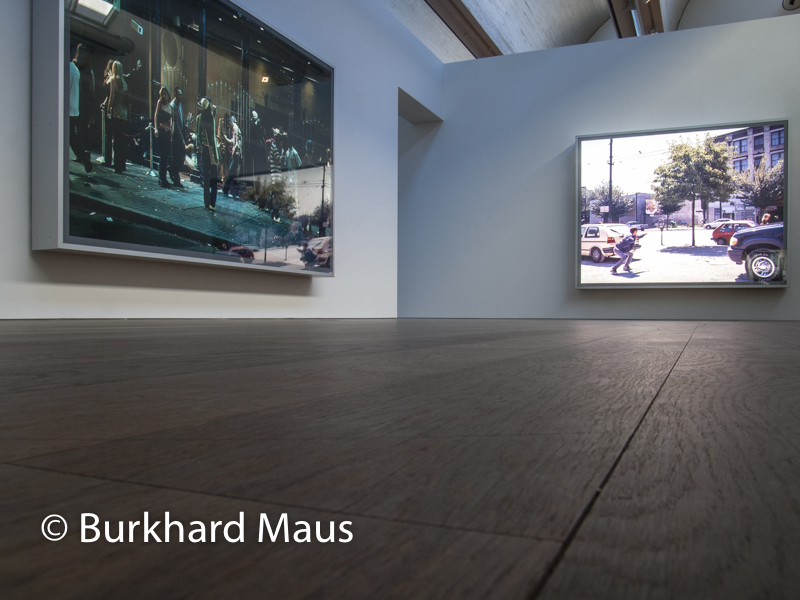 "Jeff Wall, ""Apperance"", (détail), MUDAM, Museum d'Art moderne Grand-Duc Jean, Luxembourg"