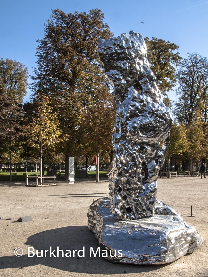 """Zhan Wang, """"Jiashanshi No. 106"""", Foire Internationale d'Art Contemporain (FIAC) 2018: Hors les murs – Jardin des Tuileries, Paris"""