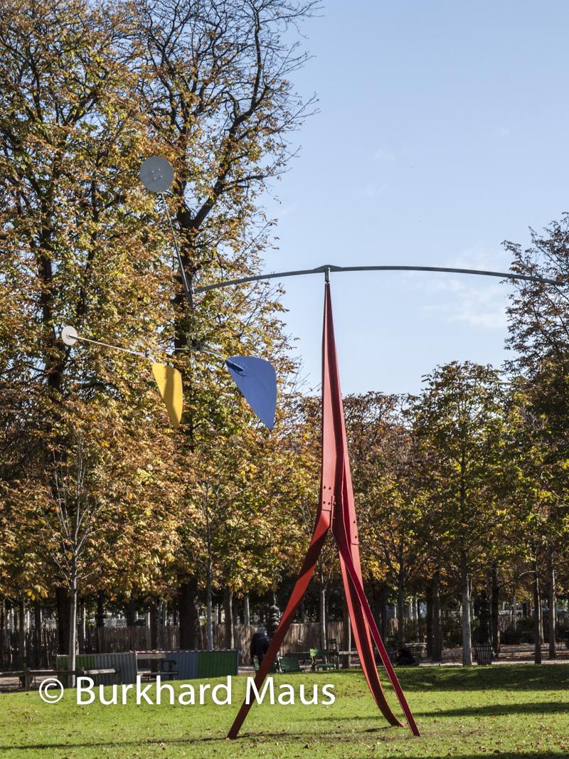 """Alexander Calder, """"Janey Waney"""", Foire Internationale d'Art Contemporain (FIAC) 2018: Hors les murs – Jardin des Tuileries, Paris"""
