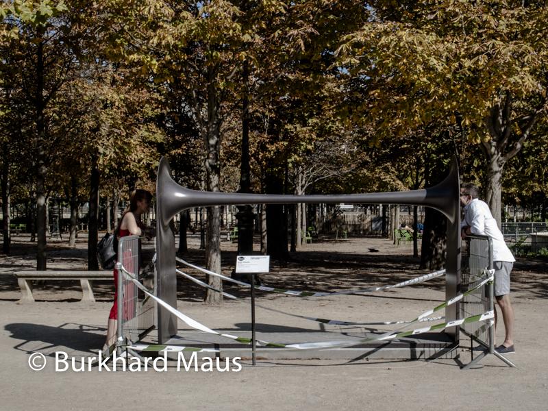 """Michele Spanghero, """"Dià"""", Foire Internationale d'Art Contemporain (FIAC) 2018: Hors les murs – Jardin des Tuileries, Paris"""