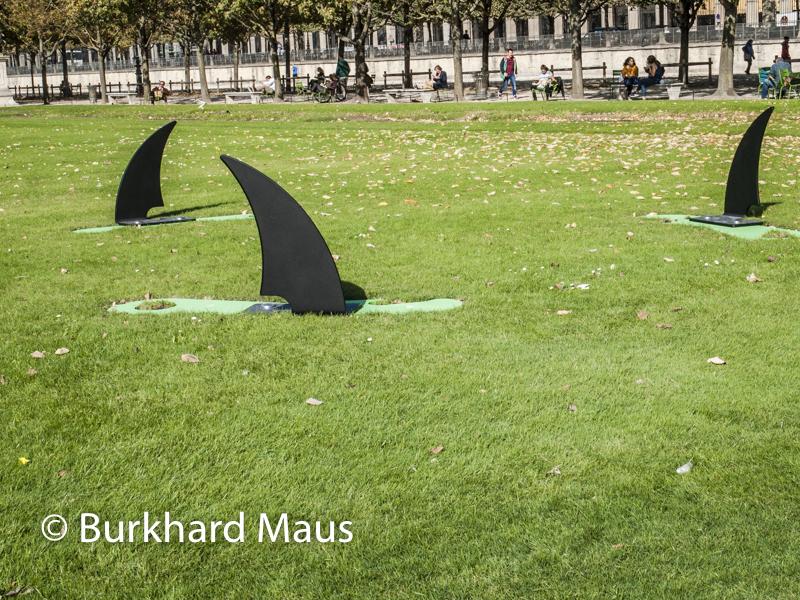 """Gilles Barbier, """"L'œuvre boîte"""", Foire Internationale d'Art Contemporain (FIAC) 2018: Hors les murs – Jardin des Tuileries, Paris"""
