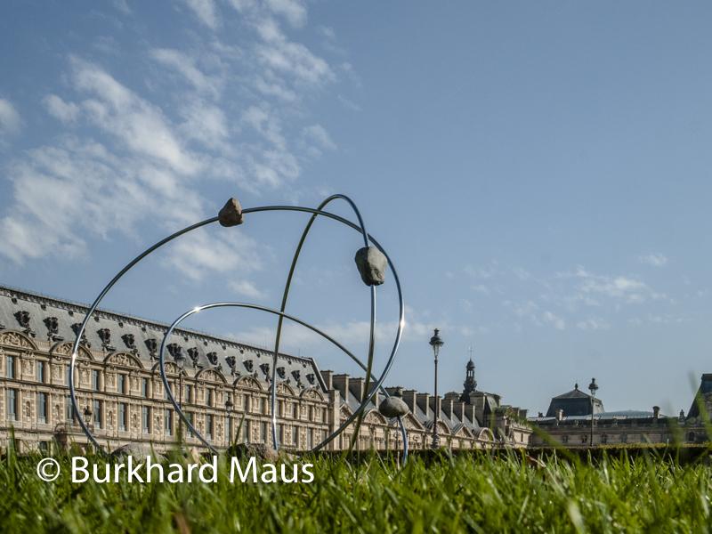 """Alicja Kwade, """"Revolution (Gravitas)"""", Foire Internationale d'Art Contemporain (FIAC) 2018: Hors les murs – Jardin des Tuileries, Paris"""