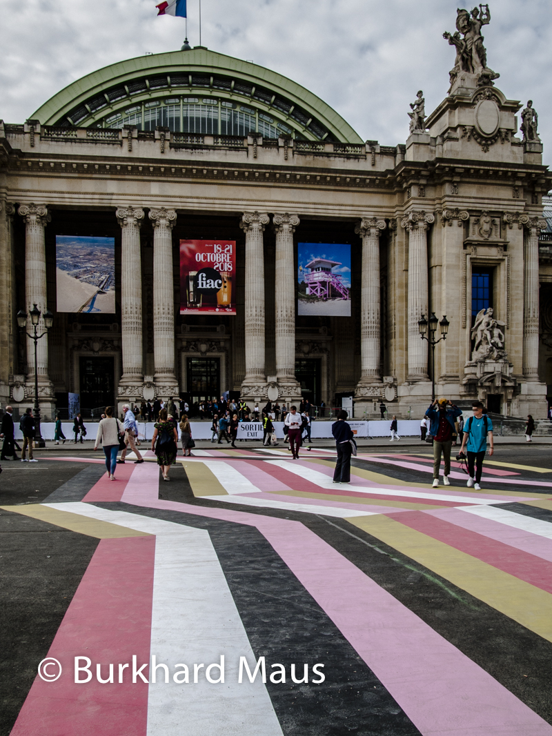 "Lang / Baumann, ""Street Painting #10"", Foire Internationale d'Art Contemporain (FIAC) 2018: Hors les murs, FIAC Projects"