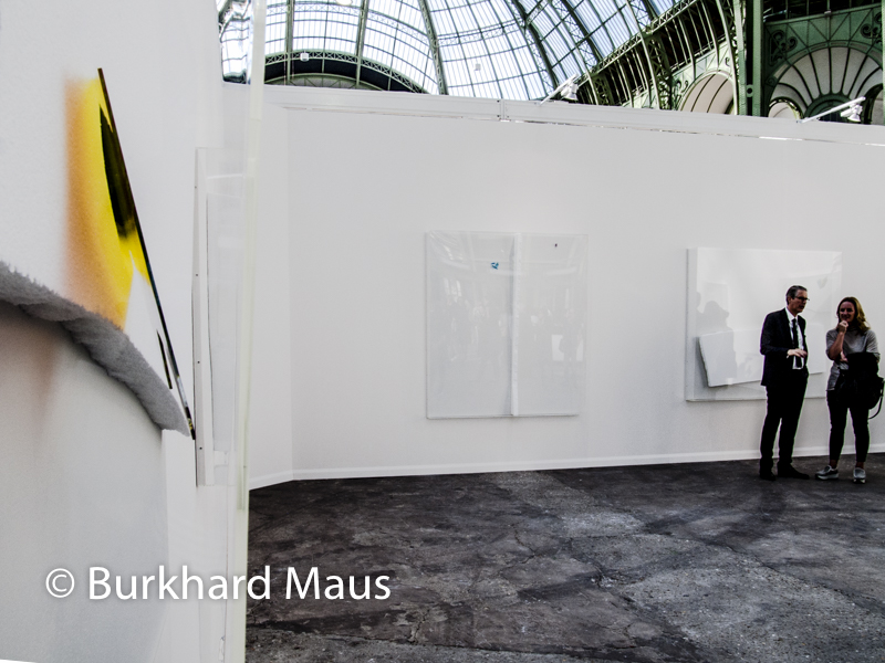 Thilo Heinzmann, Neugerriemschneider, Foire Internationale d'Art Contemporain (FIAC) 2018, Grand Palais, Paris