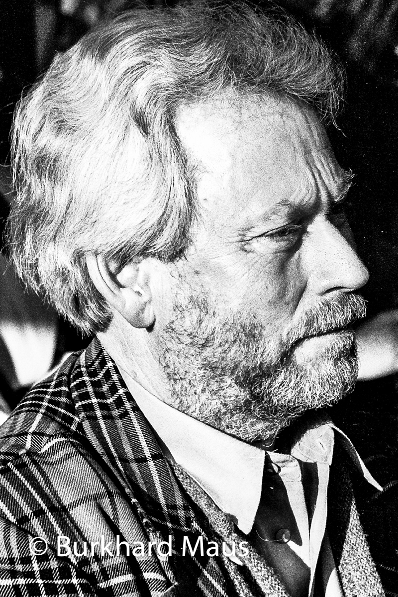 Donald Judd, (Portrait)