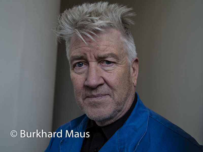 David Lynch, (Portrait), Fondation Cartier, Paris