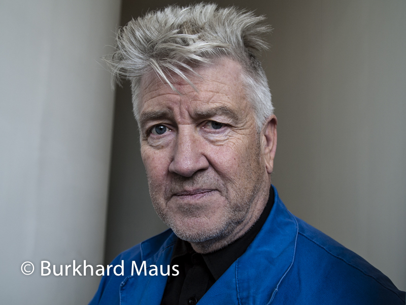 David Lynch, Fondation Cartier, Paris, (Portrait)