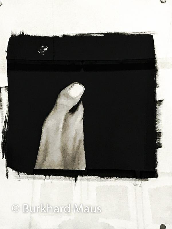 """Isabel Muñoz, """"Syb"""" détail), Galerie Esther Woerdehoff, Paris"""