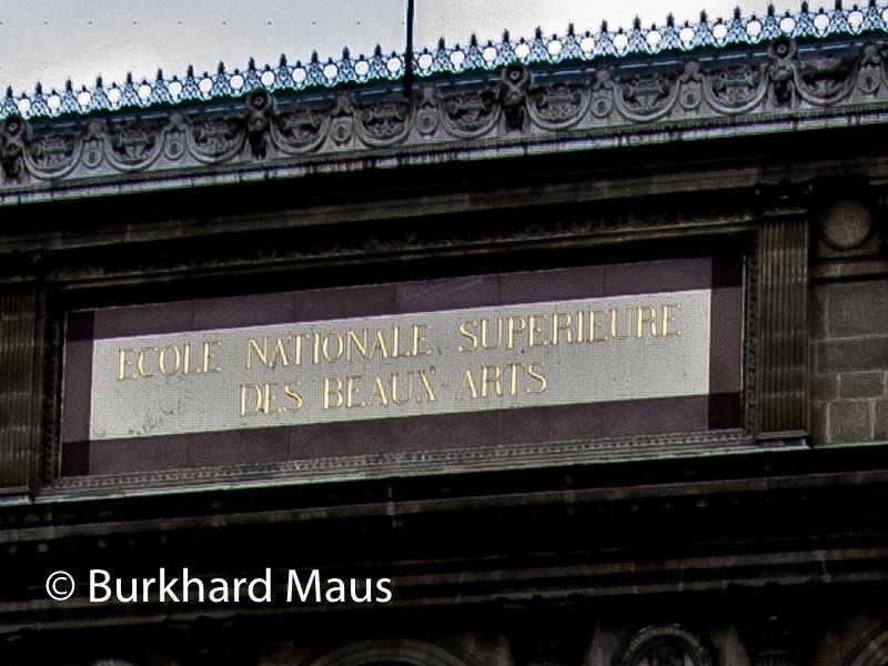 École nationale supérieure des Beaux-Arts de Paris, Paris