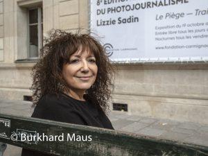 Lizzie Sadin, Fondation Camignac, Paris