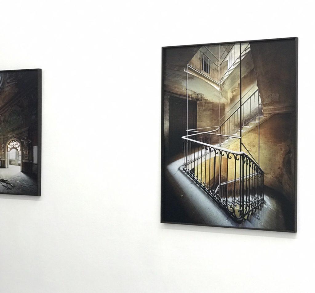 "Thomas Jorion, ""Veduta"" (dérail), Galerie Esther Woerdehoff, Paris"