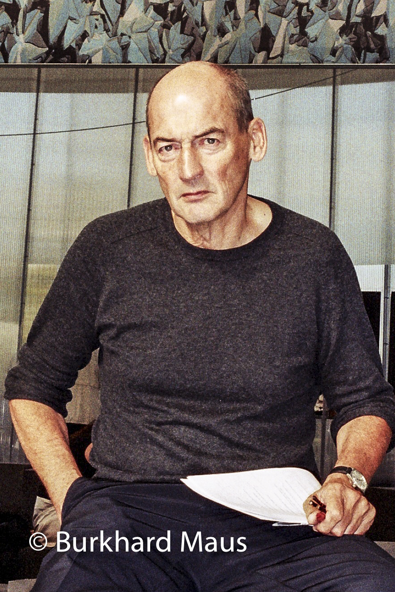 Rem Koolhaas, Serpentine Gallery