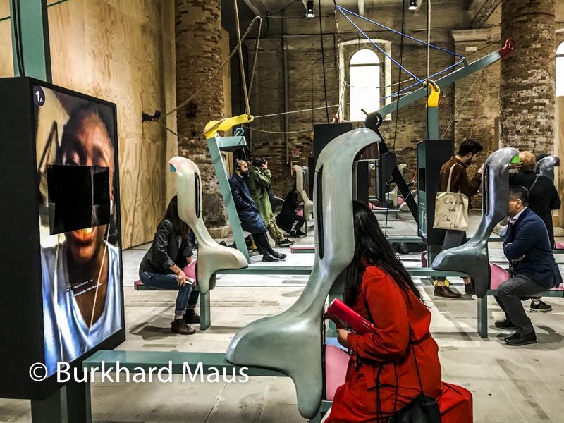 Neïl Beloufa, Esposizione internazionale d'arte di Venezia