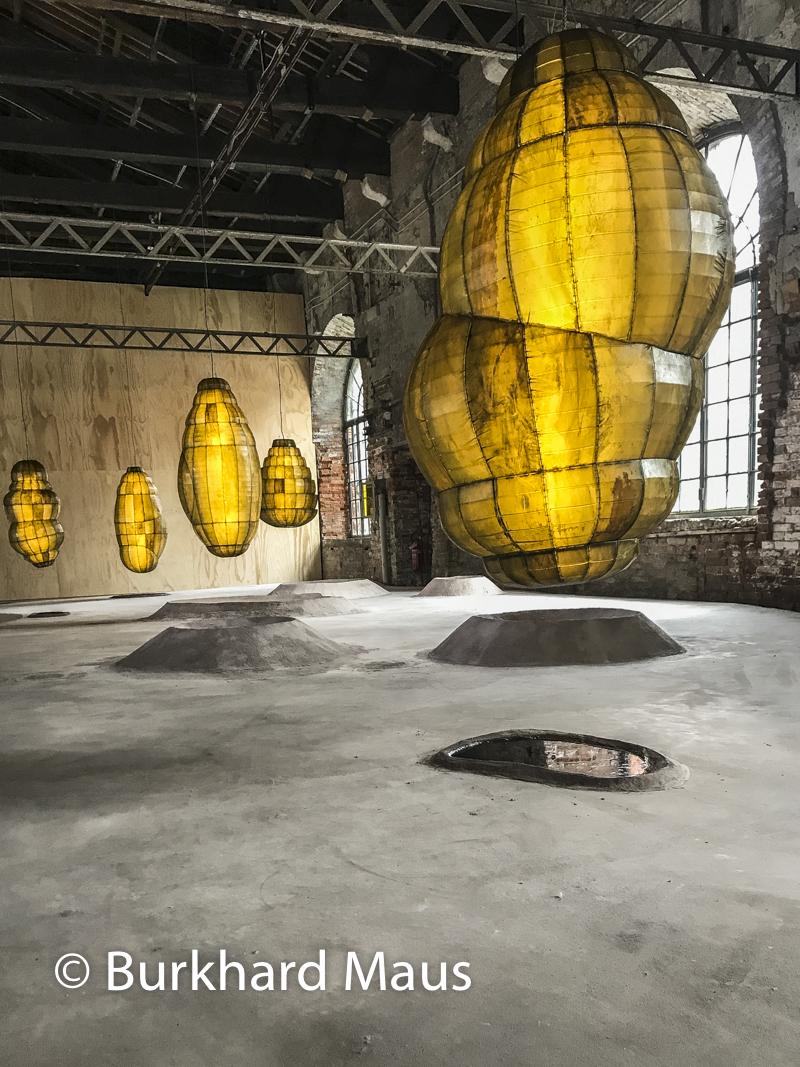 """Anicka Yi, """"Biologizing the Machine (tentacular trouble)"""", Esposizione internazionale d'arte di Venezia"""