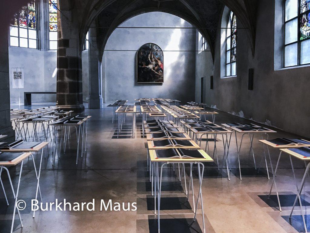 """Kathy Prendergast, """"Atlas"""" (détail), Kunst-Station Sankt Peter Köln"""