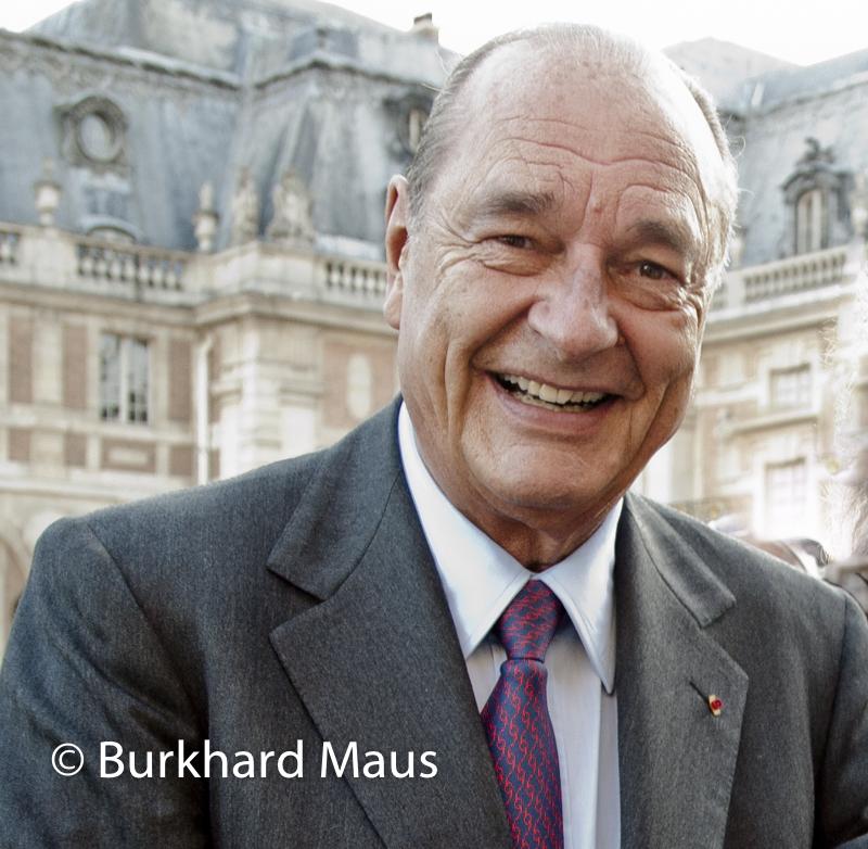 Jacques Chirac, Château de Versailles