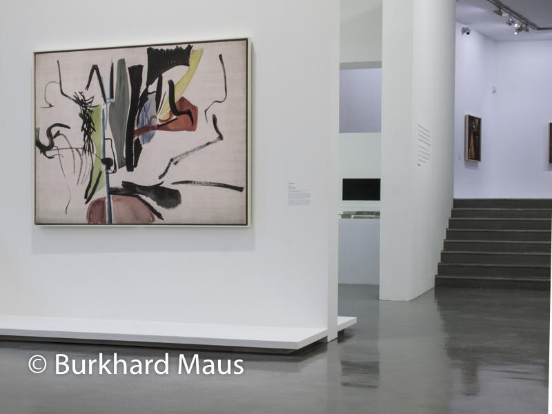 """Hans Hartung, """"La fabrique du geste"""" (détail), Musée d'Art moderne de Paris, Paris"""