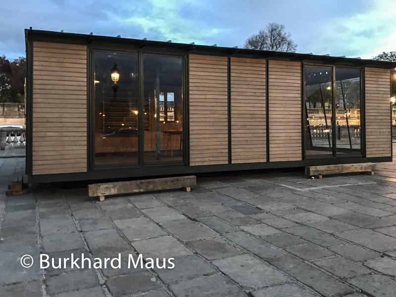 """Jean Prouvé, """"Maison démontable 6x9"""", FIAC/Tuileries 2019/Tuileries, Jardin des Tuileries, Place de la Concorde, Foire Internationale d'Art Contemporain (FIAC) 2019, Hors le Murs"""