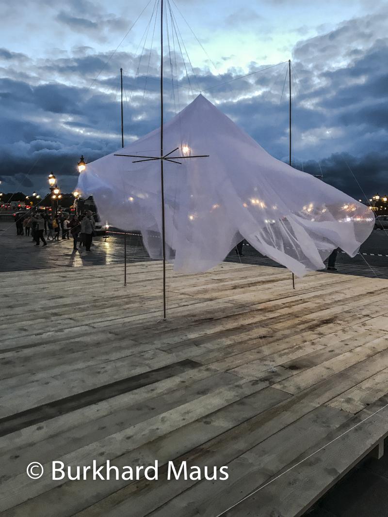 """Cecile Bendixen, """"Tentative Spaces """"Under)"""", """"Tentative Spaces (Over)""""FIAC/Tuileries 2019/Tuileries, Jardin des Tuileries, Place de la Concorde, Foire Internationale d'Art Contemporain (FIAC) 2019, Hors le Murs"""