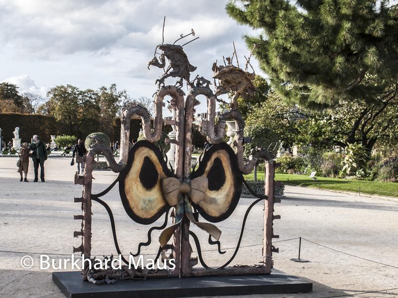 """Ida Ekblad, """"Turn Your Eyes to Sleep"""", FIAC/Tuileries 2019/Tuileries, Jardin des Tuileries, Foire Internationale d'Art Contemporain (FIAC) 2019"""