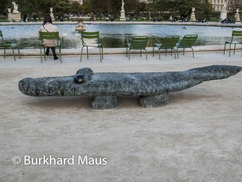 "Stefan Rinck, ""Fate-Up against your will"", FIAC/Tuileries 2019/Tuileries, Jardin des Tuileries, Foire Internationale d'Art Contemporain (FIAC) 2019:"