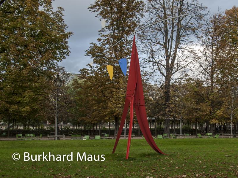 "Alexander Calder, ""Janey Waney"", FIAC/Tuileries 2019/Tuileries, Jardin des Tuileries, Foire Internationale d'Art Contemporain (FIAC) 2019:"