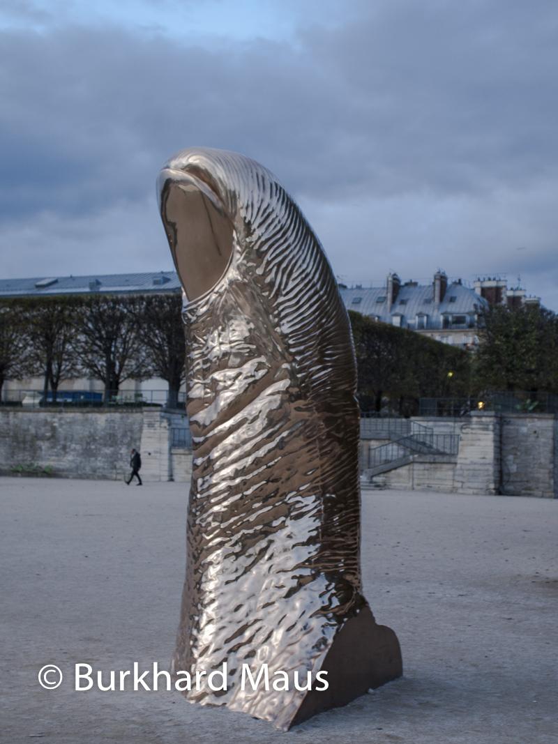 "César, ""Pouce"", FIAC/Tuileries 2019/Tuileries, Jardin des Tuileries, Foire Internationale d'Art Contemporain (FIAC) 2019"