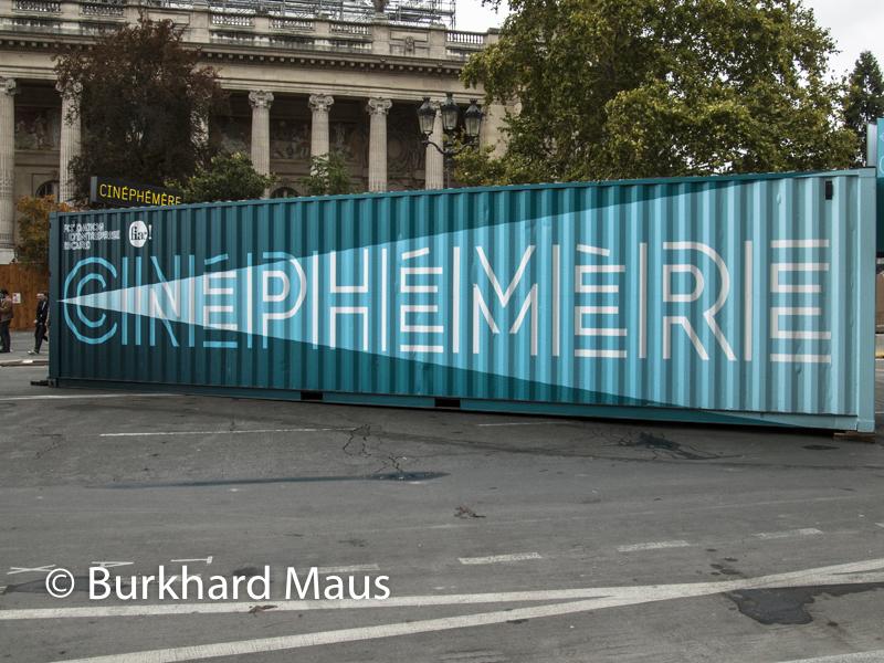 Cinéphémère, Foire Internationale d'Art Contemporain (FIAC) 2019