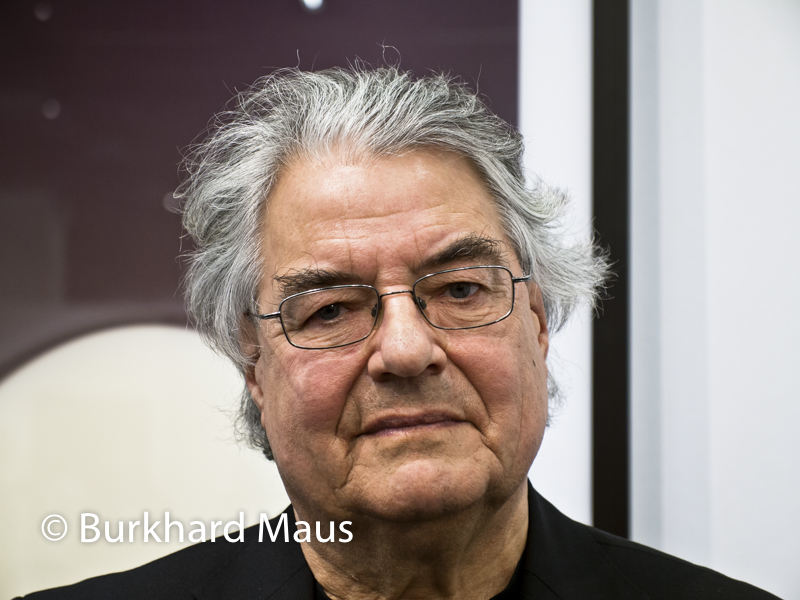 "Klaus Honnef, Art Cologne 2013 vor Thomas Ruff ""phg.02"" /Galerie David Zwirner"