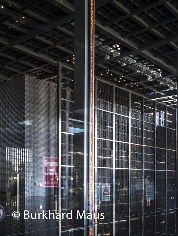 """Jean Nouvel, Jenny Holzer, """"Sans titre"""", (détail), Palais de Justice, (détail), Nantes"""