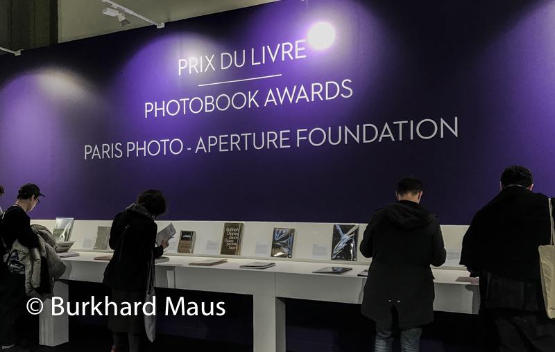 Paris Photo 2019, Prix du Livre (détail), Paris