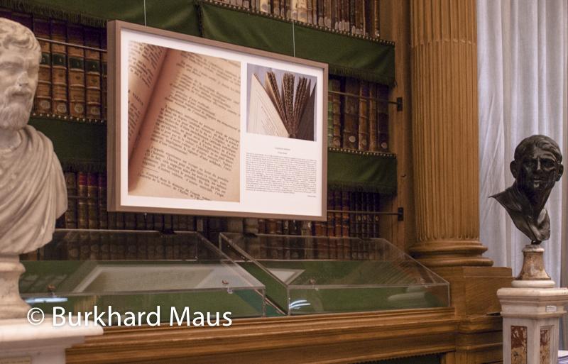 """Marguerite de Merode, """"Livres au miroir"""" (détail), Bibliothèque Mazarine"""