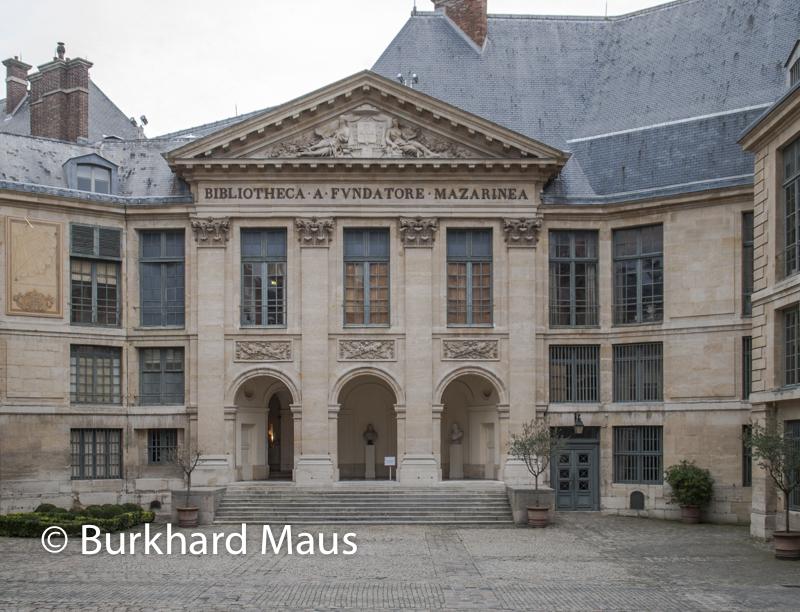 Bibliothèque Mazarine, Paris,