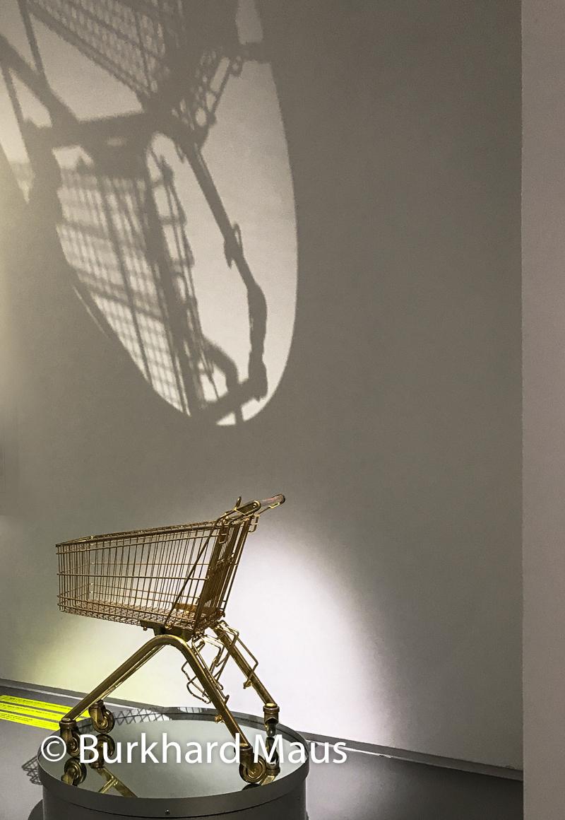 """Sylvie Fleury, """"Serie ELA 75/K (Wasn't Smudge Off), Jeu de Paume, """"Supermaché des images"""", Paris"""