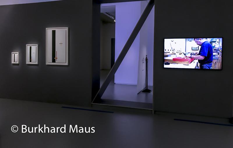 """Lázló Moholy-Nagy, """"Construction en émail 1, 2 et 3 (Telephone Pictures)"""", Ben Thorp Brown """"Tonymakers"""", Jeu de Paume, """"Supermaché des images"""", Paris"""
