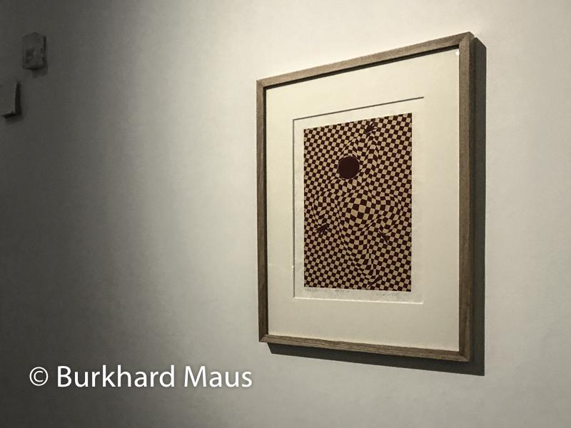"""Victor Vasarely, """"Arlequin"""", Jeu de Paume, """"Supermaché des images"""", Paris"""