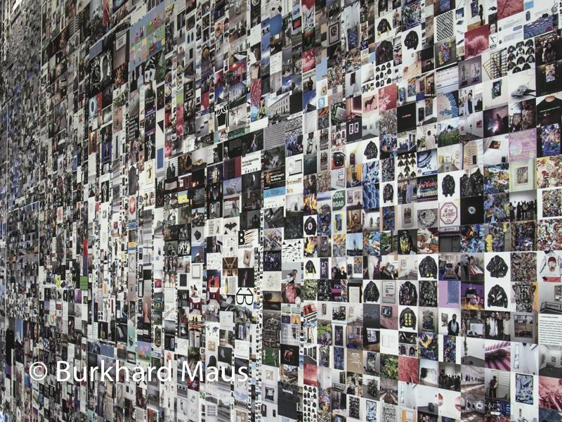 """Evan Roth, """"Since You Were Born"""" (détail), Supermaché des images, Jeu de Paume, Paris"""