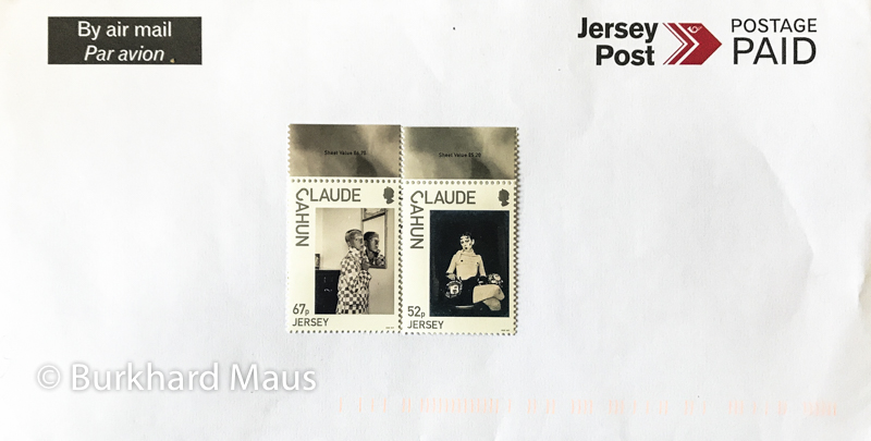 Claude Cahun, Jersey Post - Philatelic Design and Marketing
