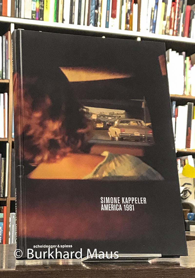 Simone Kappeler, Buchhandlung Walther König, Verlag Scheidegger & Spiess