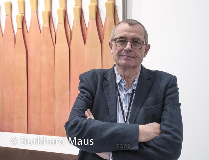 """Max Hetzler , Raymond Hains """"SAFRA"""" /Galerie Max Hetzler, FIAC 2014"""