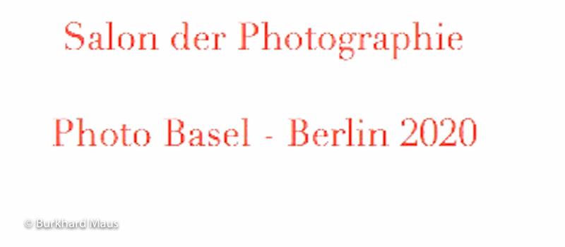 Salon der Photographie, Photo Basel - Berlin 2020