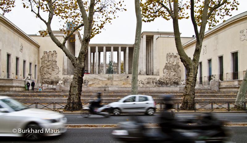 Palais de Tokyo (l.) (détail), Musée d'Art Moderne de Paris (r.) (détail), Paris