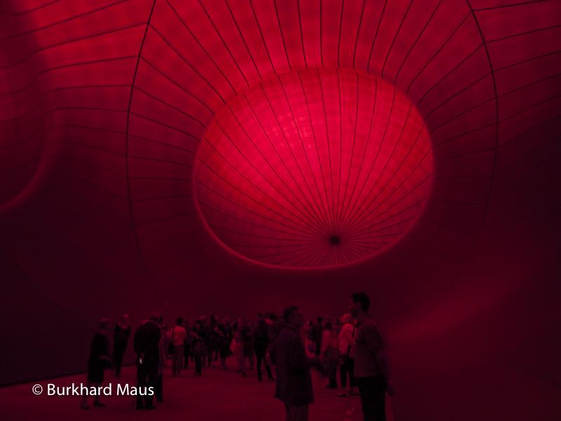 Anish Kapoor, Monumenta, Grand Palais, Paris