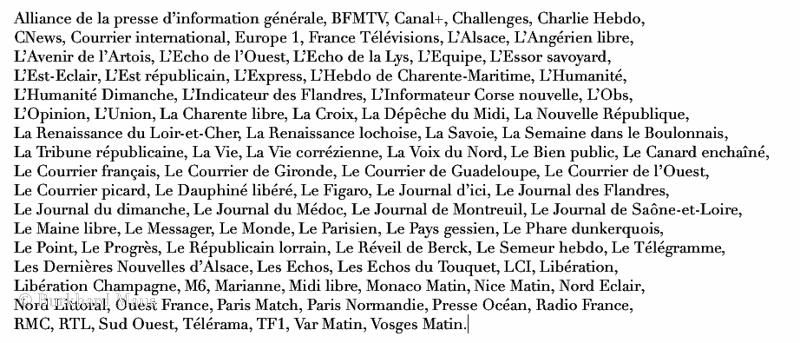 La Presse de France