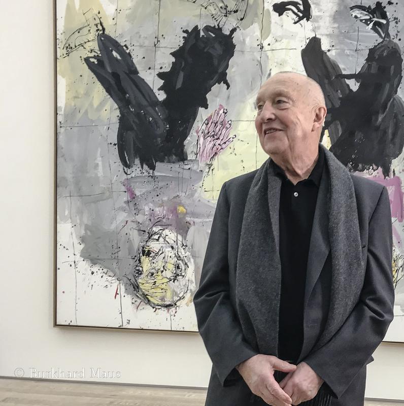 Georg Baselitz, Fondation Beyeler